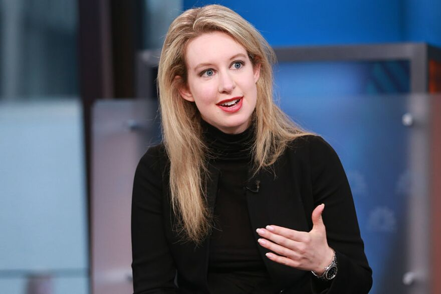 Theranos CEO Elizabeth Holmes appears during a 2015 interview with CNBC.