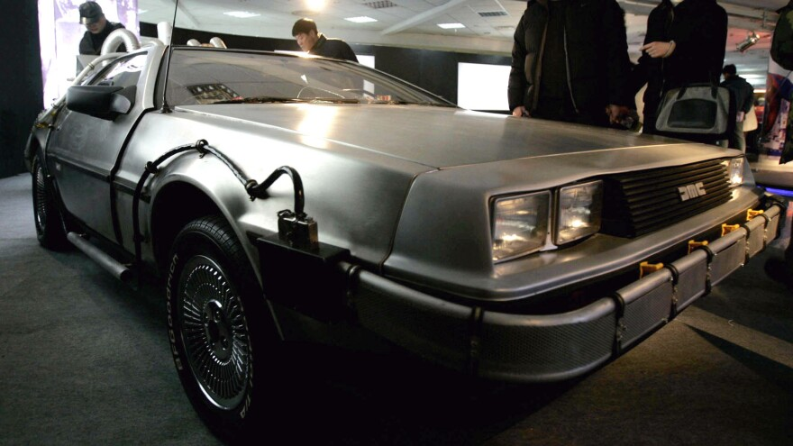 Cars like this DeLorean that was used in the 1980s sci-fi <em>Back to the Future</em> movies may be back on the roads next year.