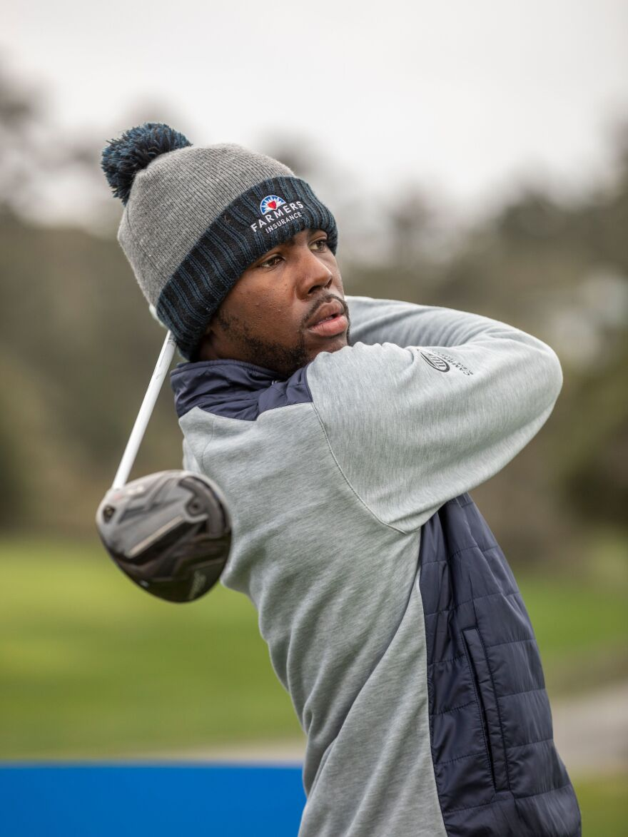 Kamaiu Johnson was ready to play in his first PGA Tour event last month. But he tested positive for the coronavirus and wasn't sure when he'd get the chance to play on the Tour again.