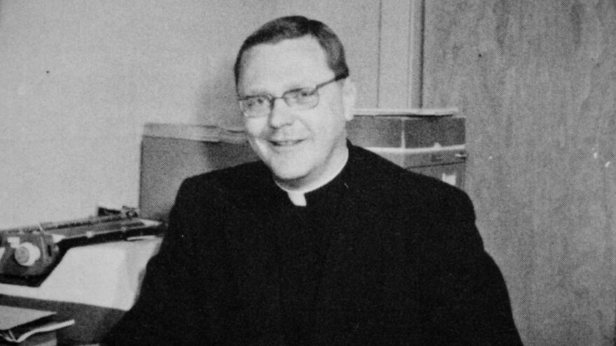 Father Joseph Maskell. (Courtesy of Netflix)