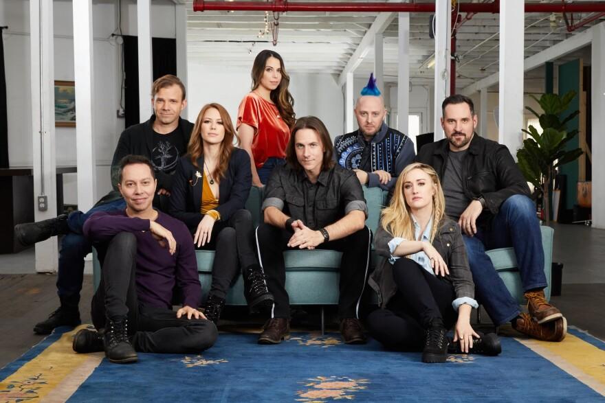 "The cast of ""Critical Role."" (Anna Azarov)"