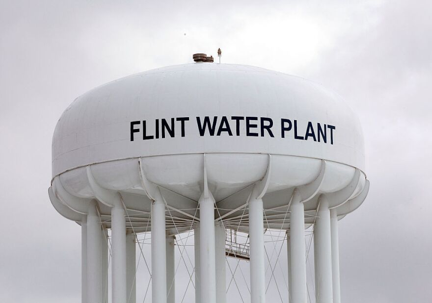A settlement agreement allocates tens of millions to replace Flint's damaged water service lines.