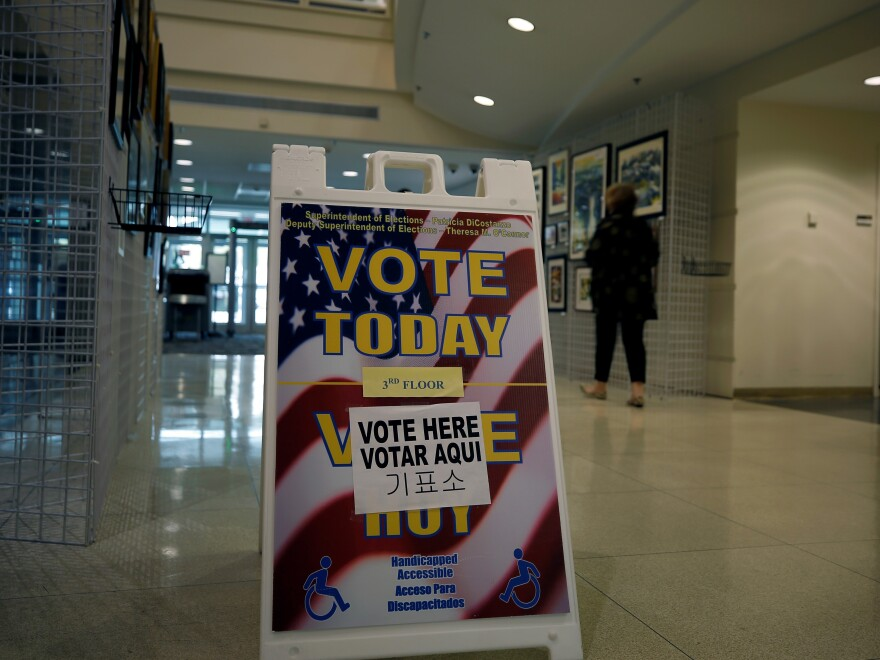 Voters went to the polls in a number of states Tuesday to decide on candidates and ballot measures.