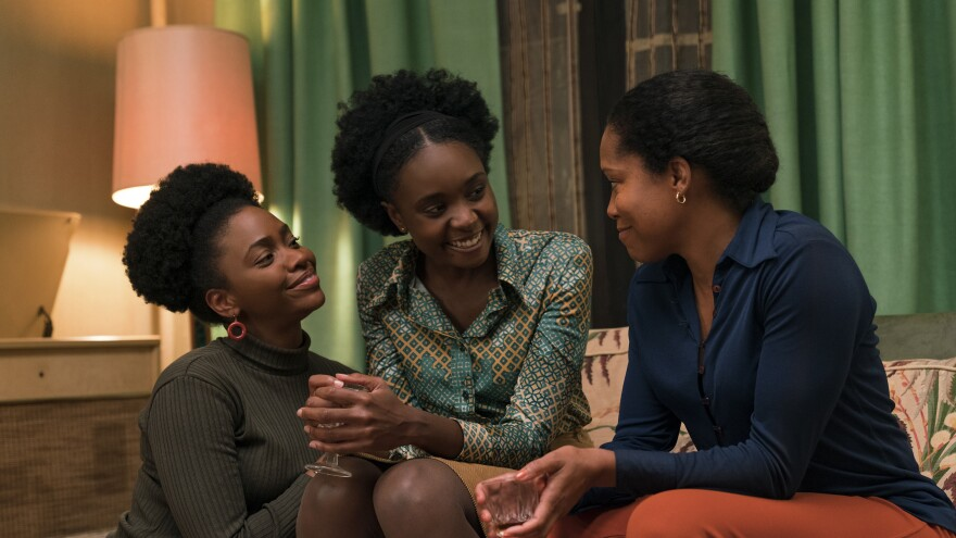 Teyonah Parris, KiKi Layne and Regina King star in <em>If Beale Street Could Talk, </em>adapted from James Baldwin's 1974 novel.