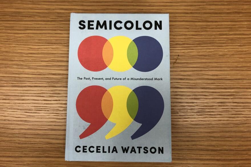 """""""Semicolon,"""" by Cecelia Watson. (Alex Schroeder/On Point)"""