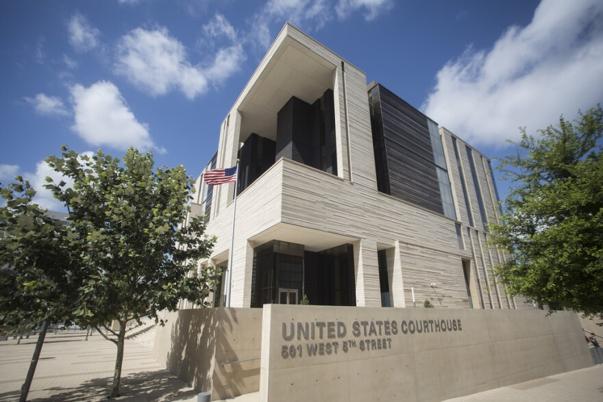 The U.S. District Courthouse for the Western District of Texas in downtown Austin.
