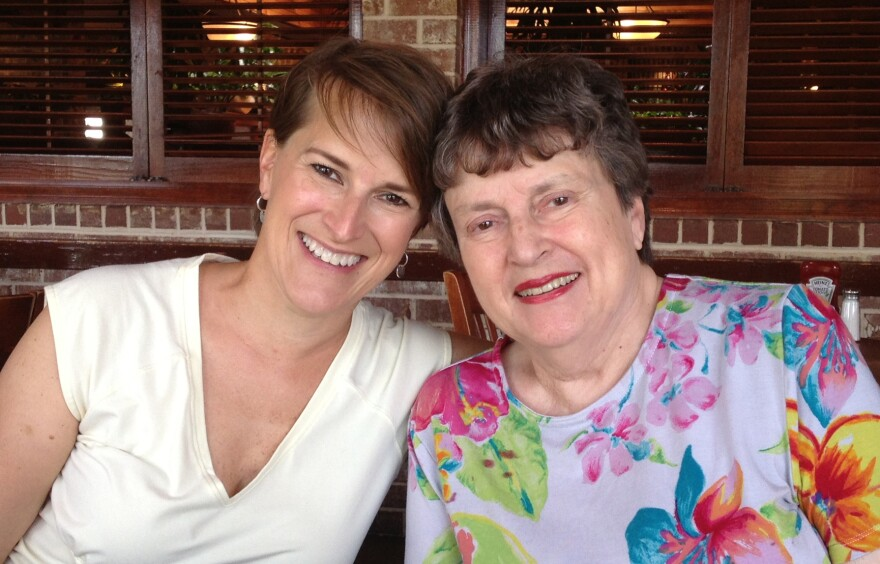 Teresa Valko and her mother, Evelyn Wilson, in 2011.