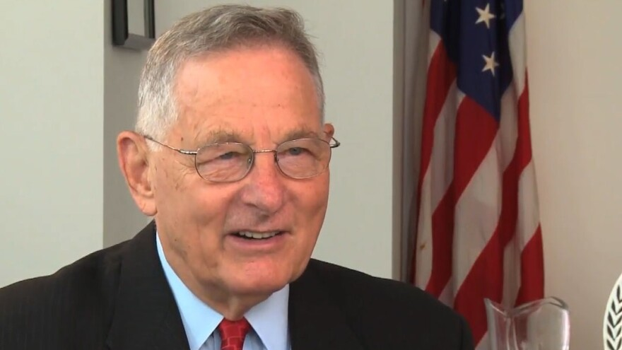 Former Sen. Birch Bayh, D-Ind., died at the age of 91 on Thursday. He served three terms in the Senate, from 1963 to 1981.