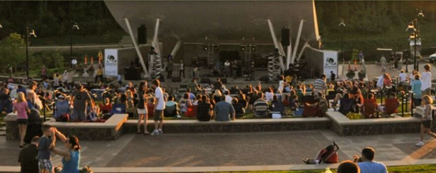 The Chesterfield amphitheater
