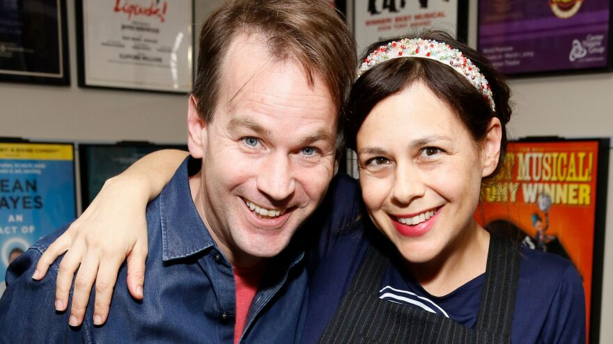 """Mike Birbiglia was initially reluctant to become a father, but his wife, Jen Stein, saw things things differently. """"I felt like [parenthood] was the kind of challenge that we were ready for,"""" she says."""