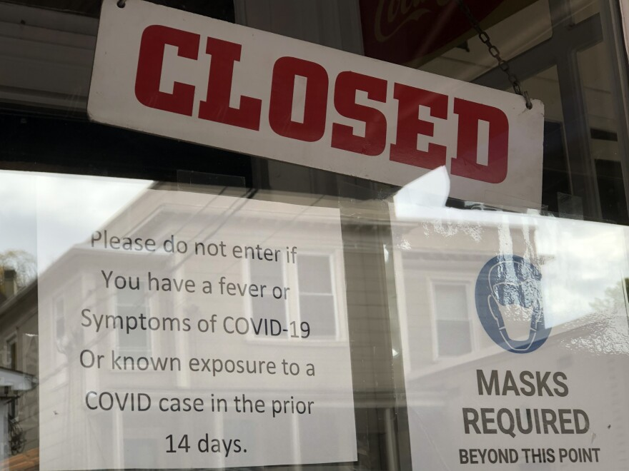 Closed Sign - COVID