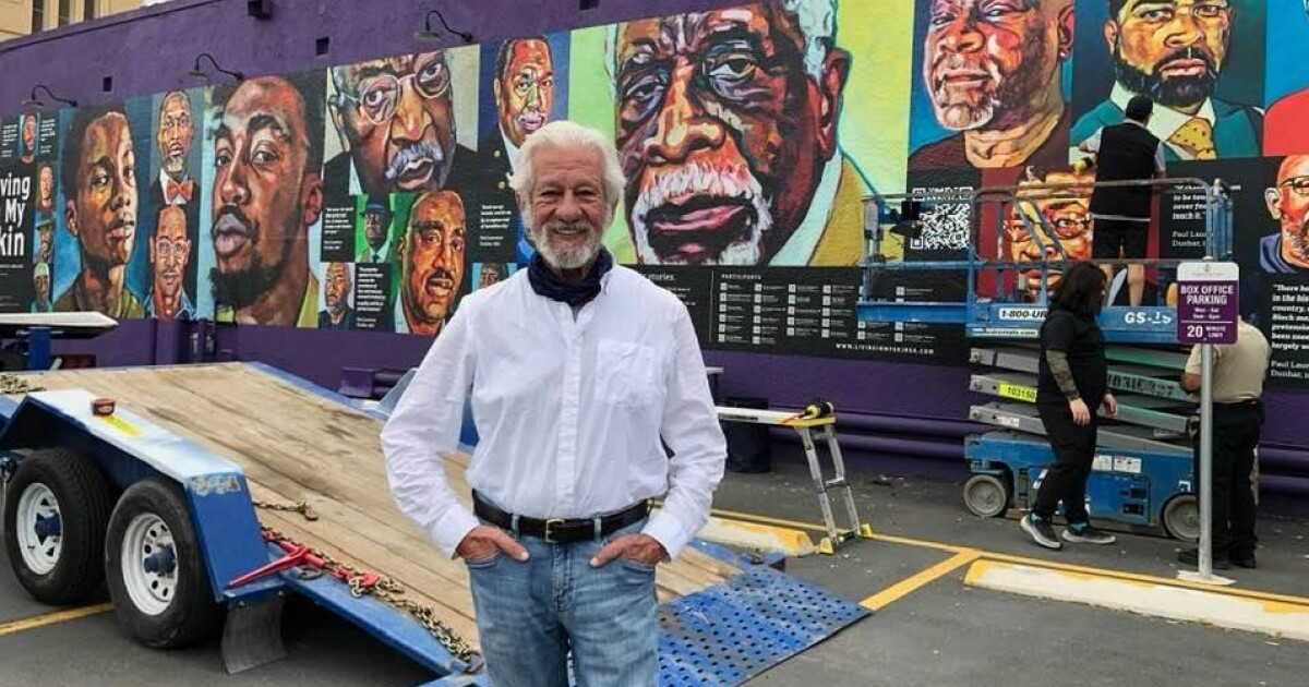 33 Black San Antonio Men Featured In New Mural, 'Living In My Skin'
