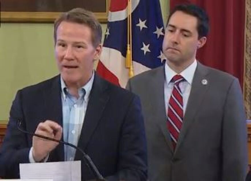 a photo of jon husted and frank larose