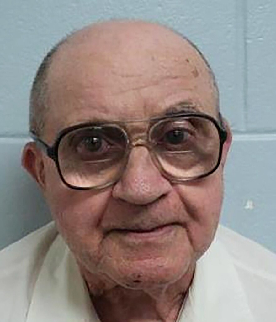 Alabama inmate Thomas Edwin Blanton Jr., who was among those convicted in the 1963 Ku Klux Klan church bombing that killed four black girls in Birmingham, Ala.