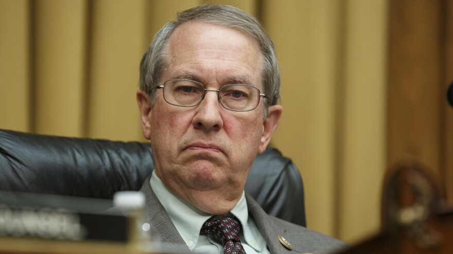 House Judiciary Committee Chairman Rep. Bob Goodlatte, R-Va., presides over a hearing in June. Goodlatte's son, Bobby, has publicly criticized his father and urged his followers to donate to a Democrat running for his father's seat.