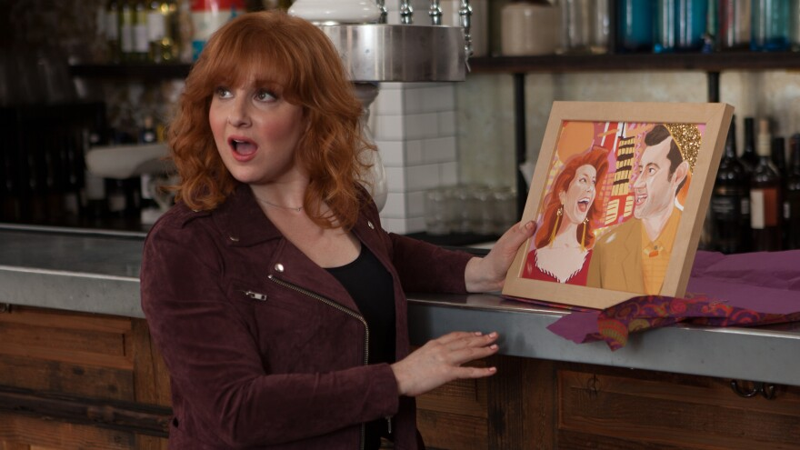 """""""I wanted to give myself really funny things to do on camera,"""" Julie Klausner says of creating her Hulu series, <em>Difficult People. </em>"""
