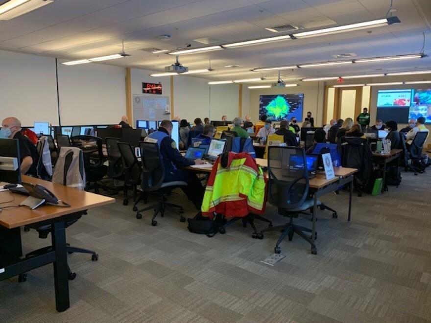 Charlotte-Mecklenburg Emergency Operations Center