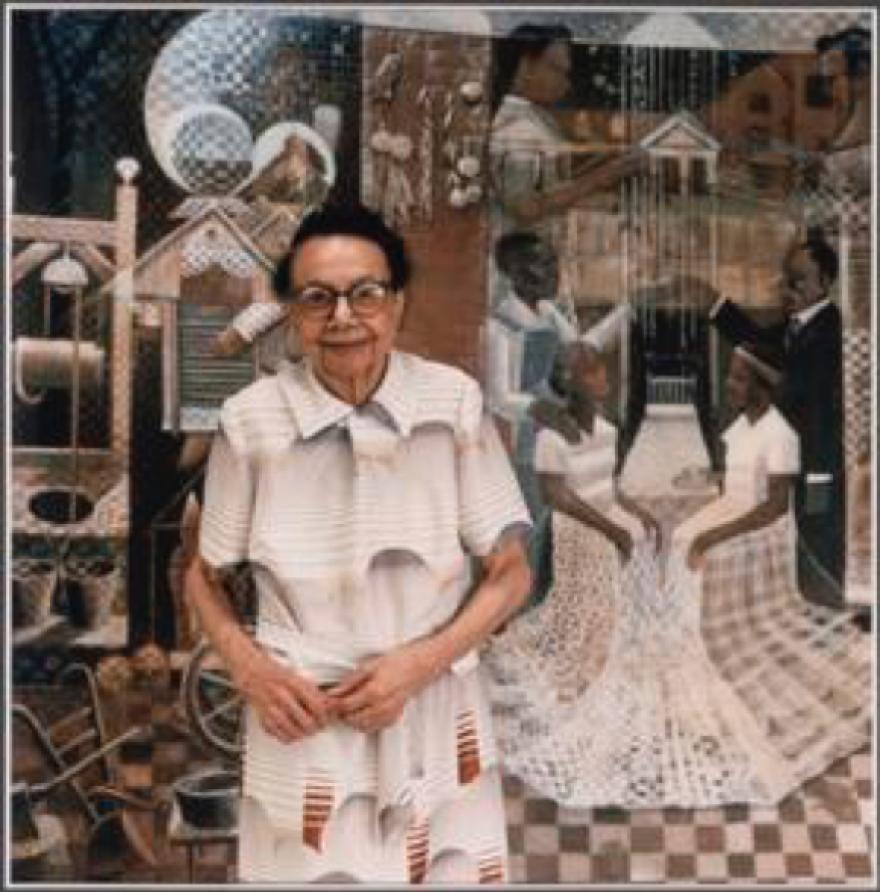 Christia Adair in 1977.