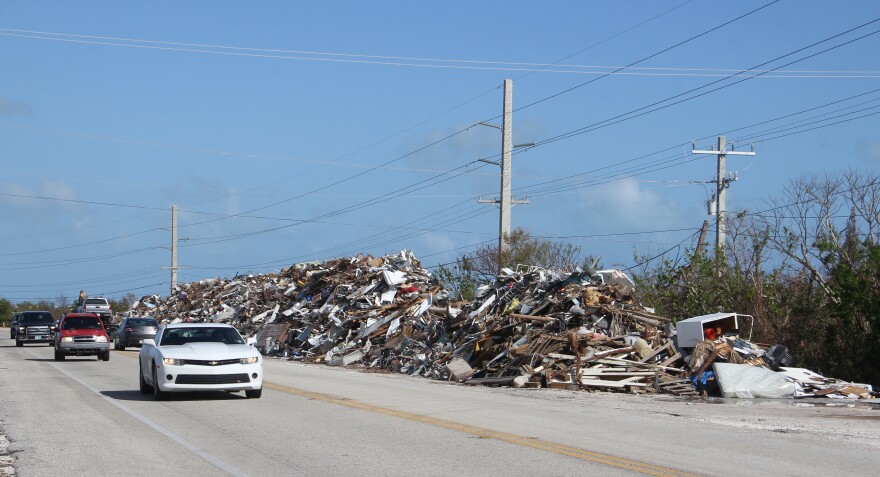 It seemed like a long time before the debris from Hurricane Irma was removed from the Keys - but it's taking even longer for local governments to get reimbursed.