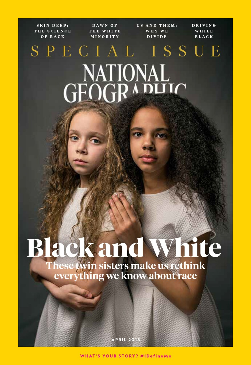 The April issue of <em>National Geographic</em> is all about race.