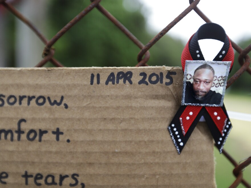 Makeshift memorials to Walter Scott sprouted up at the scene of his fatal encounter with Michael Slager, the police officer who shot him in the back as he ran away following a routine traffic stop.