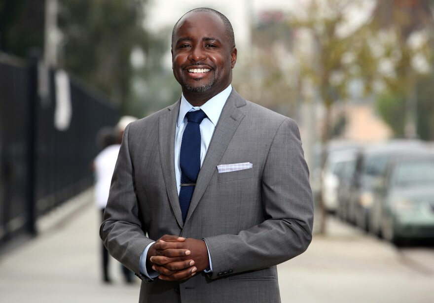 Los Angeles City Council member Marqueece Harris-Dawson is a native of South Los Angeles. He says he wants to see the police focus on fewer things.