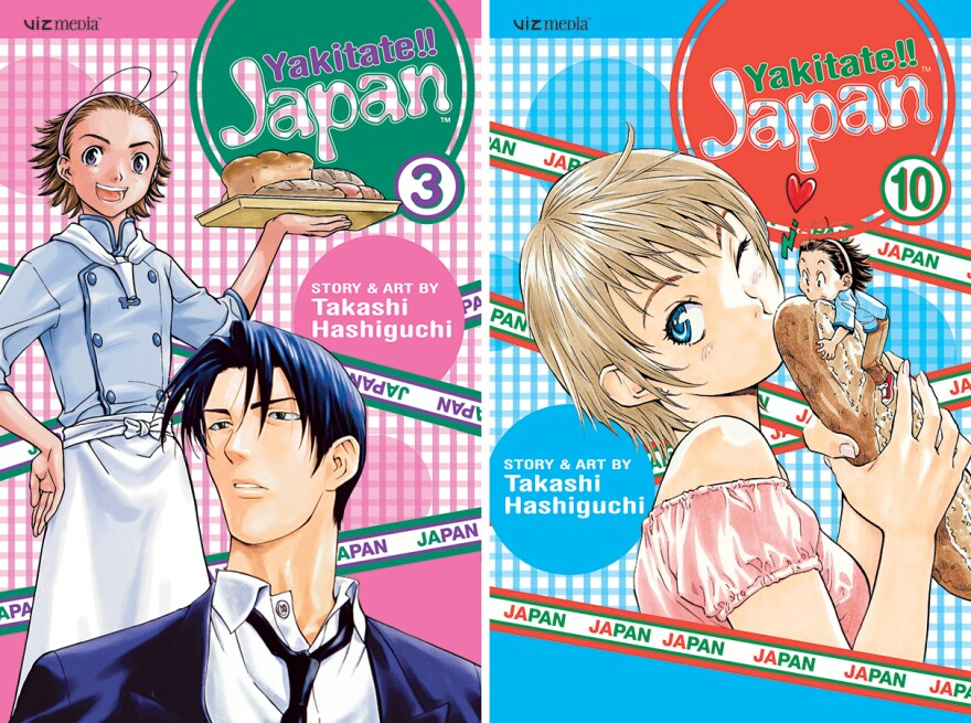 The manga<em> Yakitate!! Ja-pan </em>contains<em> </em>strong themes of WWII and Japanese culture.