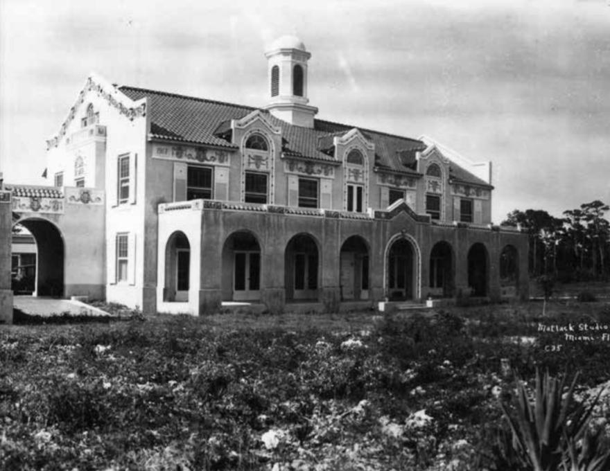 Miami City Hospital, the Alamo, circa 1918.