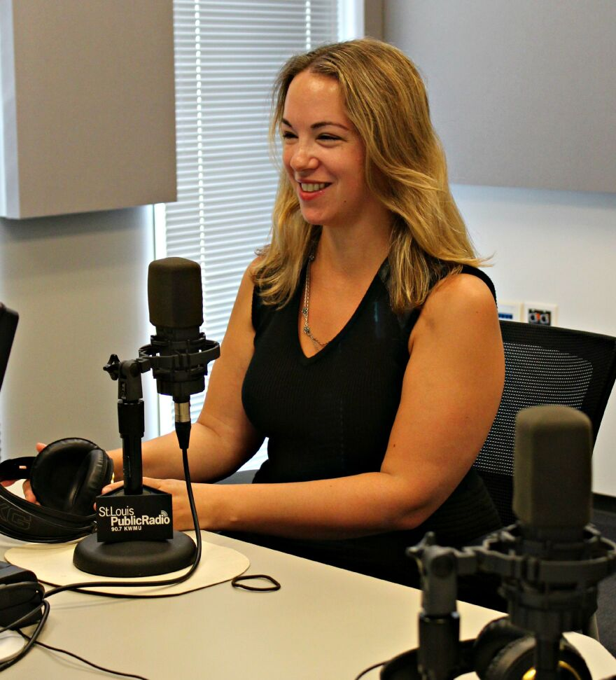 """Writer and journalist Sarah Kendzior joined """"St. Louis on the Air"""" in studio."""
