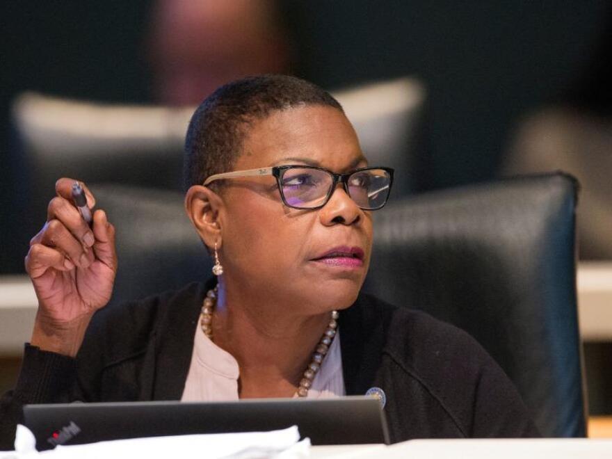 Senate Minority Leader Audrey Gibson, D-Jacksonville