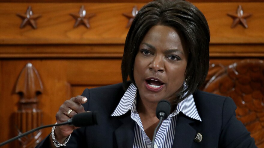 Rep. Val Demings said Sunday that leadership is needed right now but that she doesn't think the president can provide it.