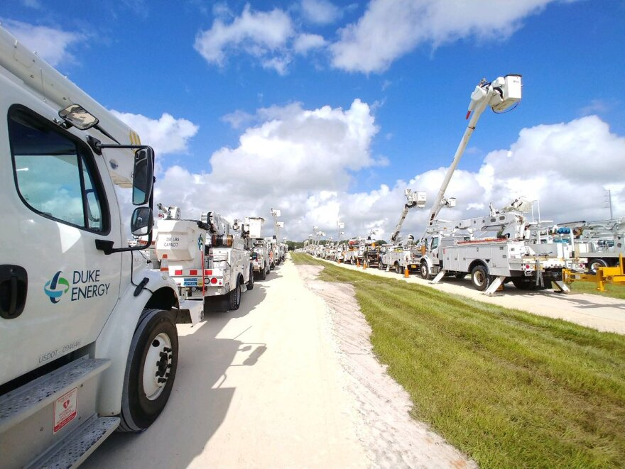 Duke Energy customers in Florida will pay less for electricity in 2020. PEVEETA PERSAUD/DUKE ENERGY