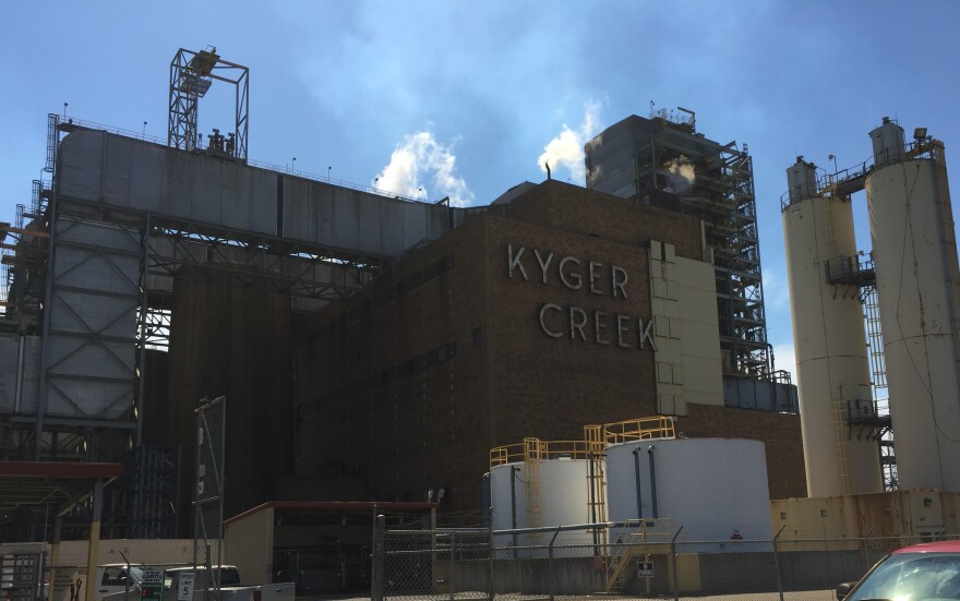 Kyger Creek OVEC coal plant in Gallia County