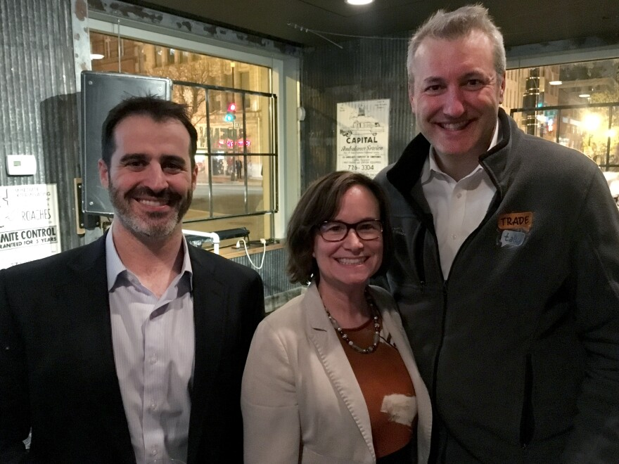 Cardiff Garcia from The Indicator hosted a panel with Caroline Freund from the World Bank and Chad Bown from the Peterson Institute at a live recording in D.C. on April 11, 2019.