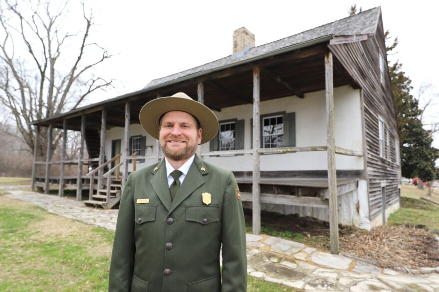 Chris Collins started with the National Park Service 16 years ago at Glacier National Park in Montana.