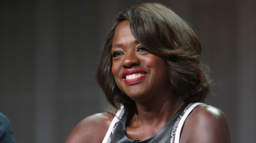 Actress Viola Davis speaks about her new ABC show <em>How to Get Away with Murder</em> at the Television Critics Association's summer press tour in Los Angeles.