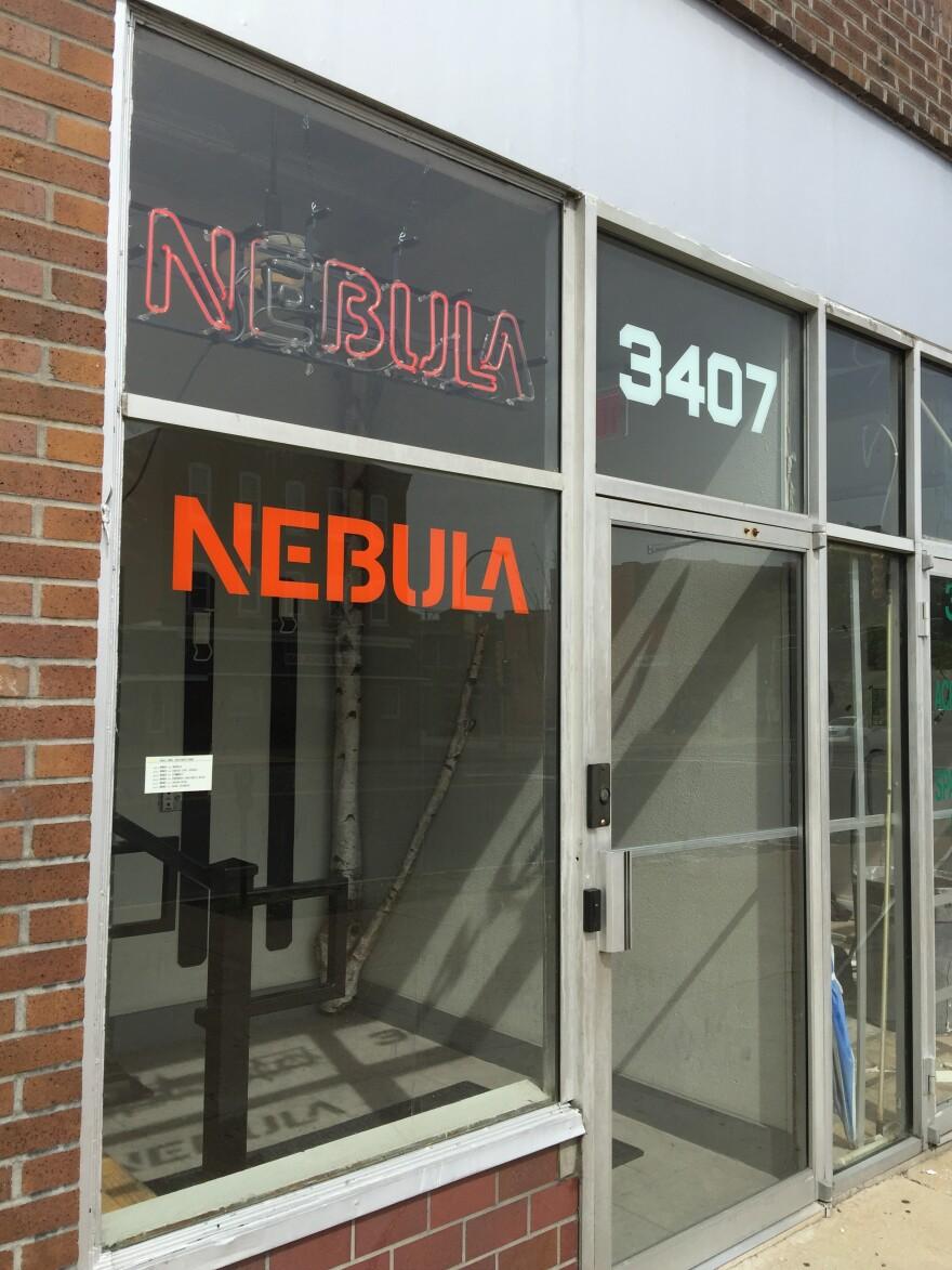 Nebula front entrance
