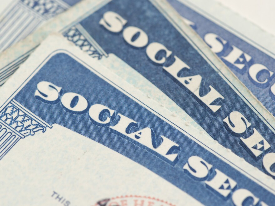 Social Security cards.