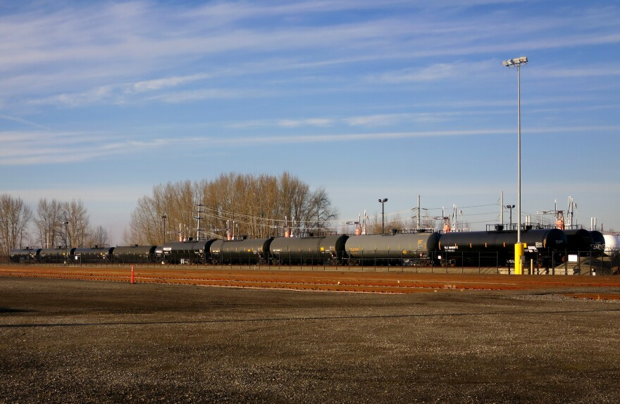 About three trains containing oil from the Bakken oil fields currently pass through the Vancouver, Wash., region every day. That number would more than double if the Vancouver Energy Project is approved.