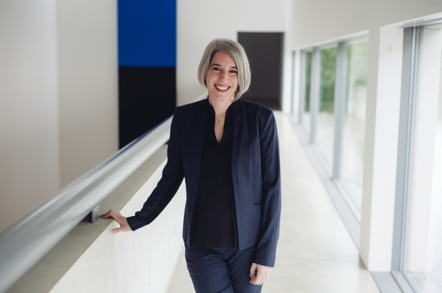Pulitzer director Cara Starke has spent a lot of time traveling in connection with her new job but is getting to know St. Louis in short walking tours.