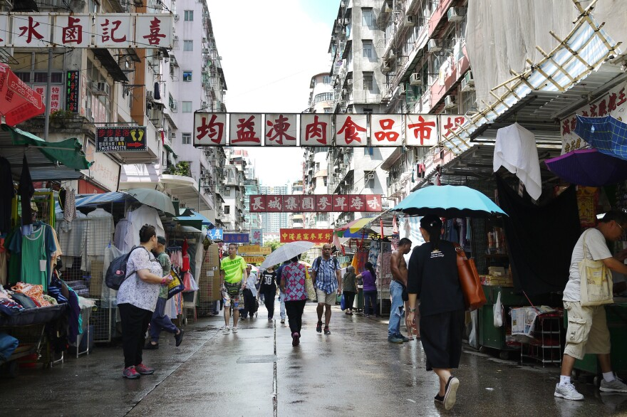 Over the years, Beijing has tightened its political grip over Hong Kong, a city of more than 7 million people, and income inequality has risen.