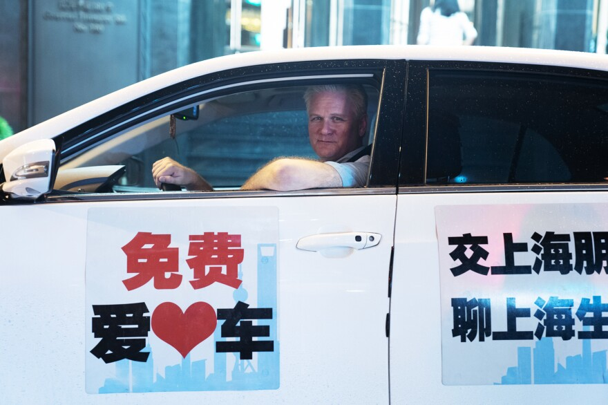 Frank Langfitt spent 10 years covering China for NPR and <em>The Baltimore Sun</em>. When he offered a free ride service in Shanghai, he found passengers spoke candidly as he drove them to their destinations.