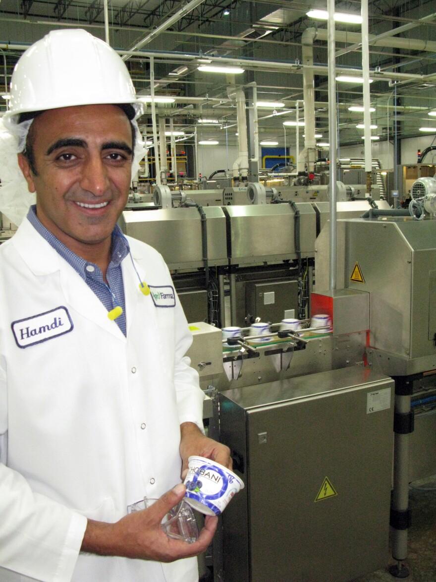 Hamdi Ulukaya, founder of the yogurt company Chobani, says making Greek yogurt using thickening agents is cheating.