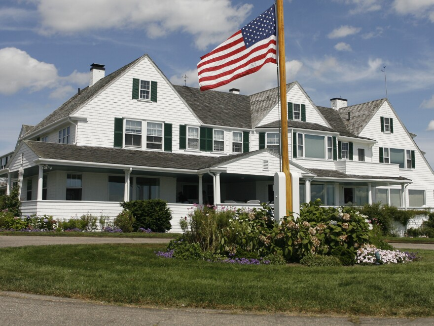 Authorities responded to the Kennedy family compound in Hyannis Port, Mass.