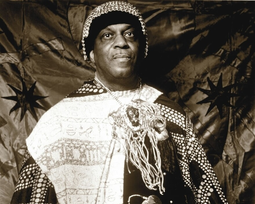"""""""In my music I speak of unknown things, impossible things, ancient things, potential things,"""" Sun Ra said in a 1980 documentary. May 22, 2014 is the 100th anniversary of the composer and bandleader's birth."""