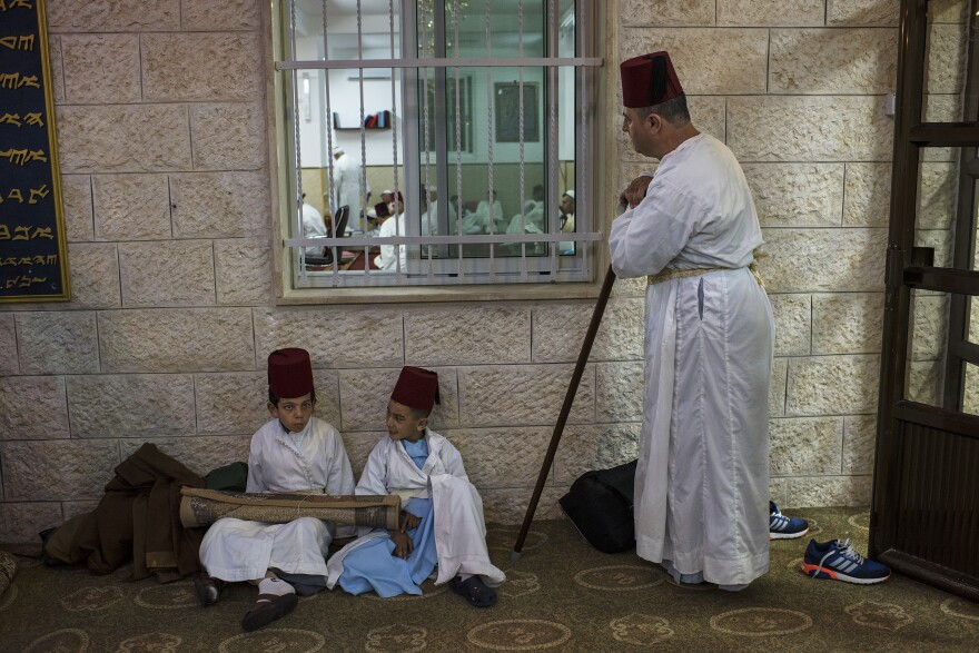 Samaritans gather in a synagogue in the middle of the night before marching to the peak of Mount Gerizim. Many collectors have the desire to own a remnant of biblical history. This desire turned Samaritan holy books into luxury commodities.