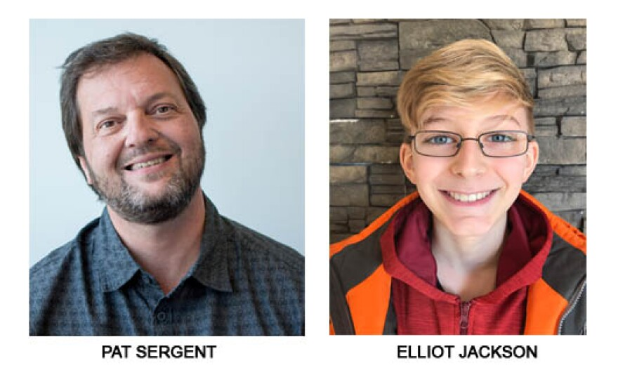 Pat Sergent and Elliot Jackson are nominated for a Regional Emmy Award.