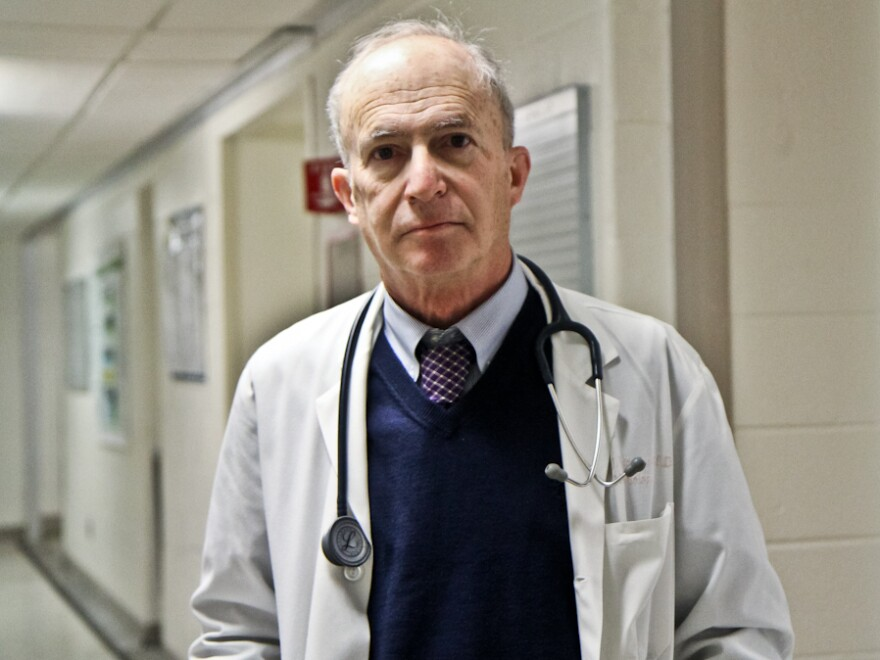 "Kidney specialist Steven Peitzman, a professor at Drexel University College of Medicine, says physicians who are now in their 60s and 70s used to get praise if they had the ""ear"" to hear and interpret subtle sounds through a stethoscope."
