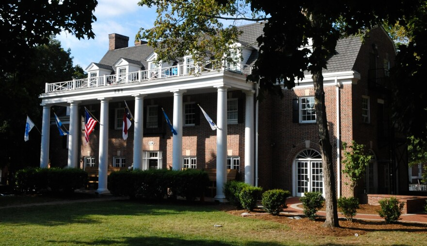 According to officials, many of the individuals charged in a large scale drug distribution ring were connected with the UNC chapters of three Greek organizations, including Beta Theta Pi, pictured here.