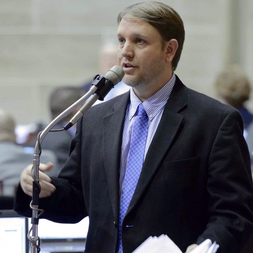 State Rep. Jeremy LaFaver, D-Kansas City, has been following the fracas in Kansas with great interest. LaFaver is a member of the House Budget Committee.